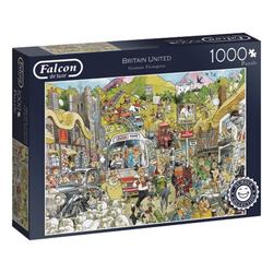 Falcon Puzzle 11197 Britain United Humour 1000 Teile Puzzle, 1000 Puzzleteile bunt