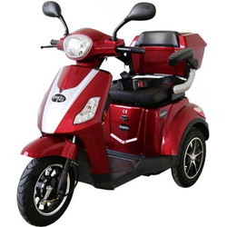 Rolektro E-Trike 25 V.2 E-Trike Rot Blei-Gel 60V 20Ah