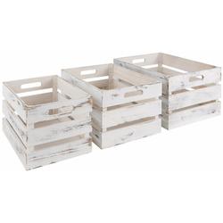 Zeller Present Kiste, (3er Set)