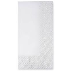 Servietten 40 x 40 cm 1/8 -Falz, 2-lagig weiß, 250 Stk.