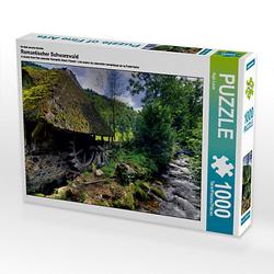 Romantischer Schwarzwald Lege-Größe 64 x 48 cm Foto-Puzzle Bild von Ingo Laue Puzzle
