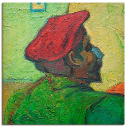 Wandbild »Paul Gauguin Gemälde v. V. van Gogh«, Bilder, 59987234-0 grün 30x30 cm grün