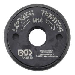 BGS Schnellspannmutter M14 für Winkelschleifer