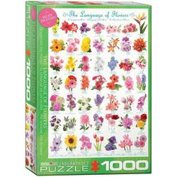 empireposter Puzzle Sag's in der Sprache der Blumen - 1000 Teile Puzzle im Format 68x48 cm, Puzzleteile