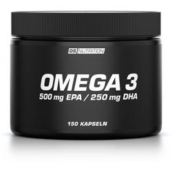 OS NUTRITION Omega 3 - Triglyceride Kapseln, 150 Kapseln