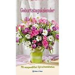 Blumen, Geburtstagskalender