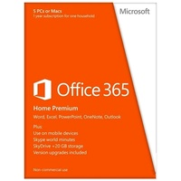 Microsoft Office 365 Home Premium 5 User ESD ML Win Mac