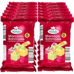 Backfee Marzipan-Rohmasse 200 g, 12er Pack