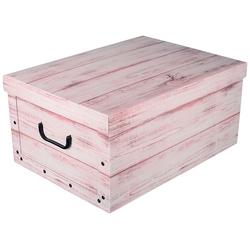 KREHER Aufbewahrungsbox White Wood weiß