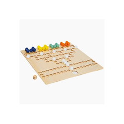 Legler Spiel, Barrikade Brettspiel-Klassiker aus Holz im XL-Format Barrikade XL Mit extra großem Spielfeld, Das extra große Spielfeld und die Aussparungen für die Spielsteine machen es Spielern mit kleinen Händen oder unsicherer Handführung einfach.