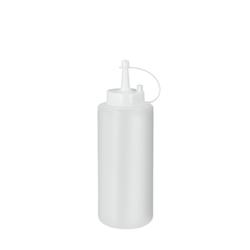 Metaltex Squeezy Saucenspender, Quetschflasche aus Kunststoff mit Verschlussklappe, Füllmenge: 375 ml