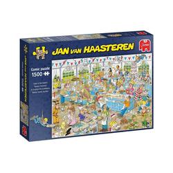 Jumbo Spiele Puzzle 19077 Jan van Haasteren Backe,backe,Kuchen, 1500 Puzzleteile