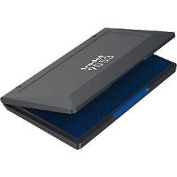 Trodat 9052 Stempelkissen Blau, Grösse 7 x 11 cm