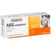 Ratiopharm ASS-ratiopharm 500 mg Tabletten