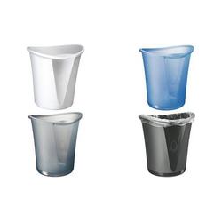 LEITZ Papierkorb Allura, aus Kunststoff, 18 Liter, weiß (80520401)