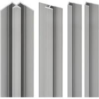 Schulte Profil-Set für Duschrückwand Decodesign alunatur 2100 mm