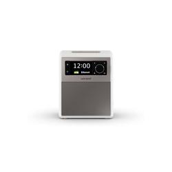 Sonoro EASY Digitalradio (DAB) (Digitalradio (DAB), FM, Radiowecker, Bluetooth, tragbar) weiß