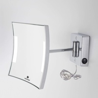 Koh-I-Noor QUADROLO LED Wand-Kosmetikspiegel, C60/1KK3