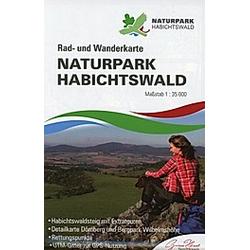 KKV Rad- und Wanderkarte Naturpark Habichtswald - Buch