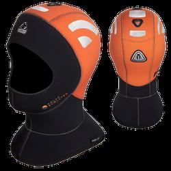 Waterproof H1 5/7 High Visibility Kopfhaube - Gr: S