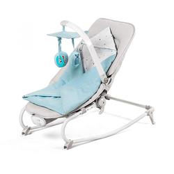 Kinderkraft Felio 3in1 Babywippe Babyschaukel Schaukelsitz Wippe, blau