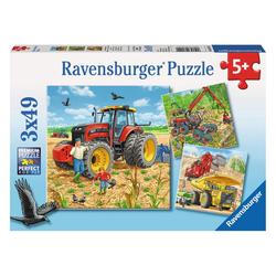 Ravensburger Puzzle Große Maschinen, 147 Puzzleteile