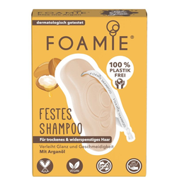 FOAMIE Festes Shampoo - Kiss Me Argan