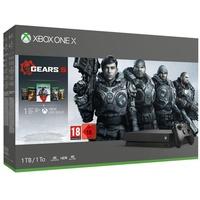 Microsoft Xbox One X 1TB schwarz + Gears 5 (Bundle)