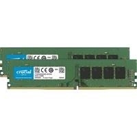 Crucial 16GB Kit DDR4 2666 MT/s 8GBx2 DIMM 288pin