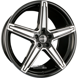 Alufelge GMP Italia Italia MK1 Einteilig Black Diamond 9.00 x 21 ET 25.00 5x120.00