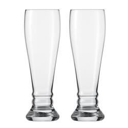 SCHOTT ZWIESEL Bavaria Weizenbierglas 2 Stück im SET für Hefeweizen