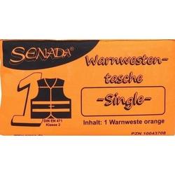 SENADA Warnweste orange Single Tasche 1 St