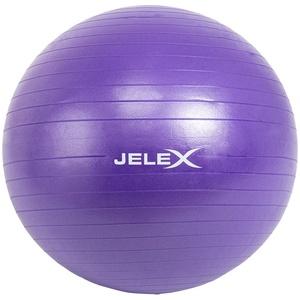 JELEX Fitness Yogaball inkl. Pumpe 65cm lila - Größe:Einheitsgröße