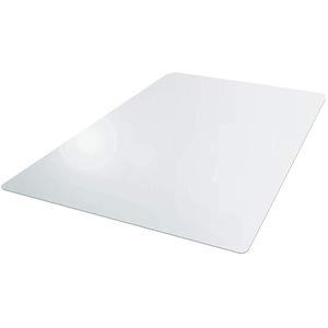 Xpccj Bodenschutzmatte, PVC, transparent, rutschfest, kratzfest, Bodenschutz für Zuhause und Büro