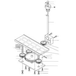 PROXXON 27040-06-19 Handrad für Dickenhobel DH40