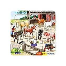 Maxi-Pixi-Puzzle: Reiterhof (Kinderpuzzle)
