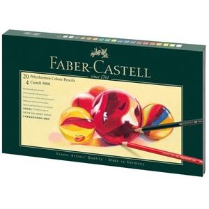 Faber-Castell Stifte Mixed Media Polychromos und Castell 9000 im Geschenkset