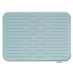 Brabantia Abtropfmatte, silikon, Strapazierfähige Geschirrabtropfmatte mit Stil, Farbe: Mint