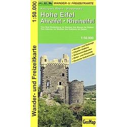 GeoMap Karte Hohe Eifel  Ahreifel  Rheineifel - Buch