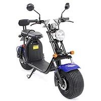 eFlux Harley Two 1500 Watt 45 km/h schwarz/blau