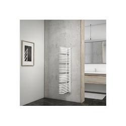 Schulte Badheizkörper Porto, Wandmontage weiß 13 cm x 120 cm x 51,5 cm
