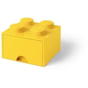 LEGO Storage Brick 1 Drawer Bright Yellow