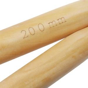 Bambus Stricknadeln, feste Strickwaren Nadel 20 mm