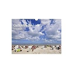 Ostfriesische Inseln (Wandkalender 2021 DIN A4 quer)