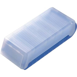 Lernkartei BeeBox A7 quer bis 600 Karten blau