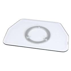 Hama Glas, 800mm Monitor-Drehteller Transparent