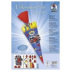 """Dekorations-Set """"Feuerwehr"""""""""""""""