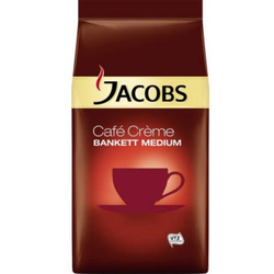 JACOBS Kaffee Café Crème BANKETT MEDIUM ganze Bohnen 1.000 g/Pack. 1kg