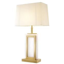 Casa Padrino Luxus Tischleuchte 23,5 x 41 x H. 77,5 cm - Designer Lampe