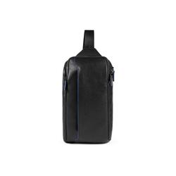 Piquadro Rucksack B2S Querträgertasche RFID 35 cm schwarz